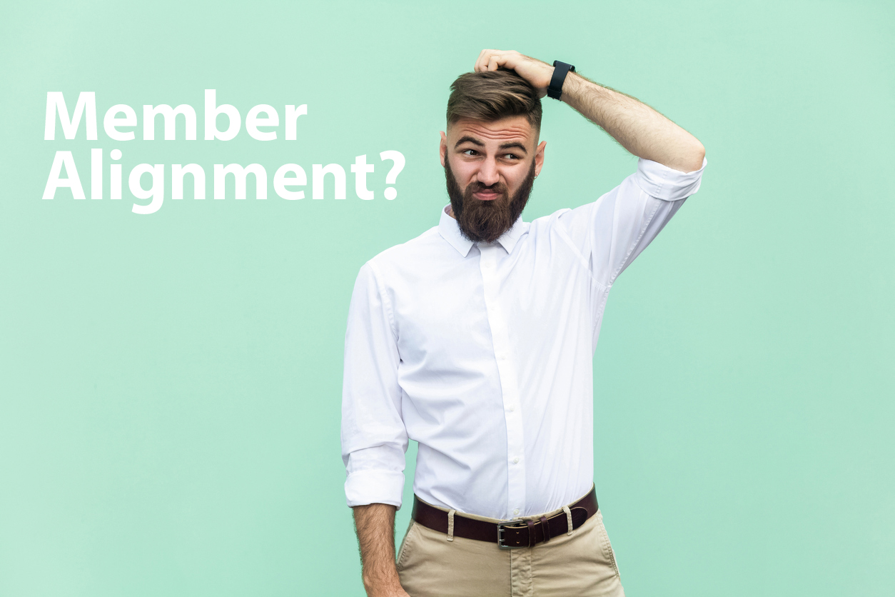 man with hand on head not sure how to answer