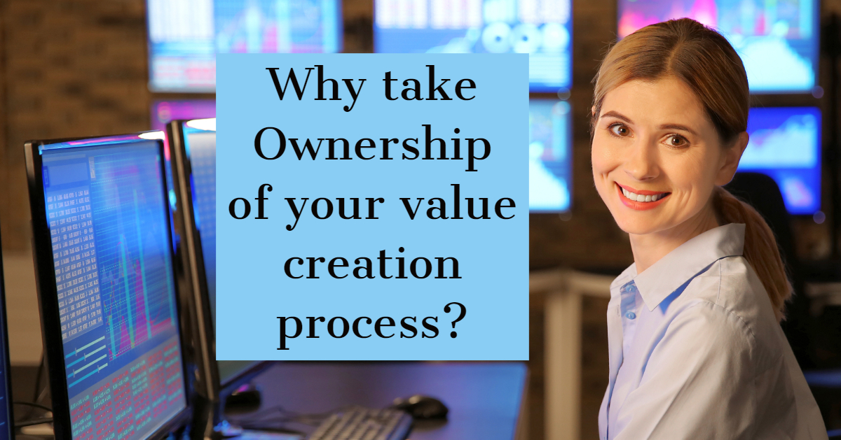 Stock trader asks about value creation