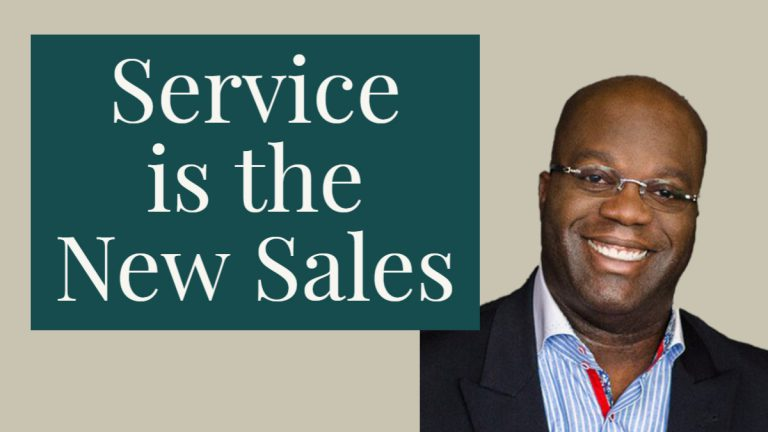 service is the new sales