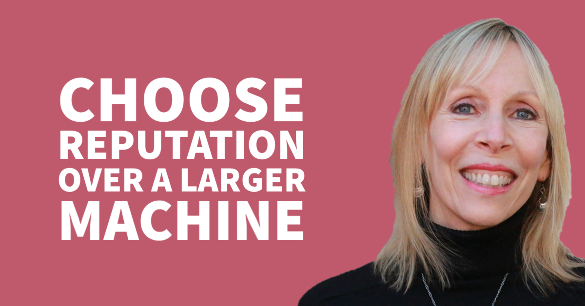 Choose Reputation over a Larger Machine